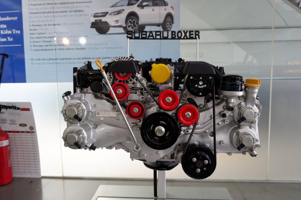 Động cơ boxer trên Subaru Forester 2019