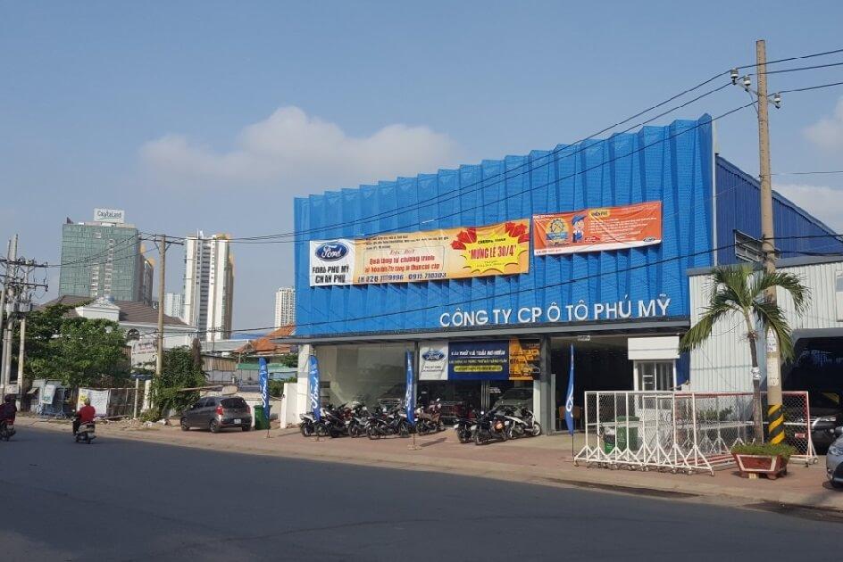 Giá xe Ford Ranger 2021 tại Ford Tân Thuận quận 7 1