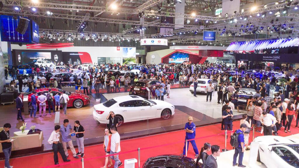 Triển lãm Ô tô Việt Nam- Vietnam Motor Show 2019