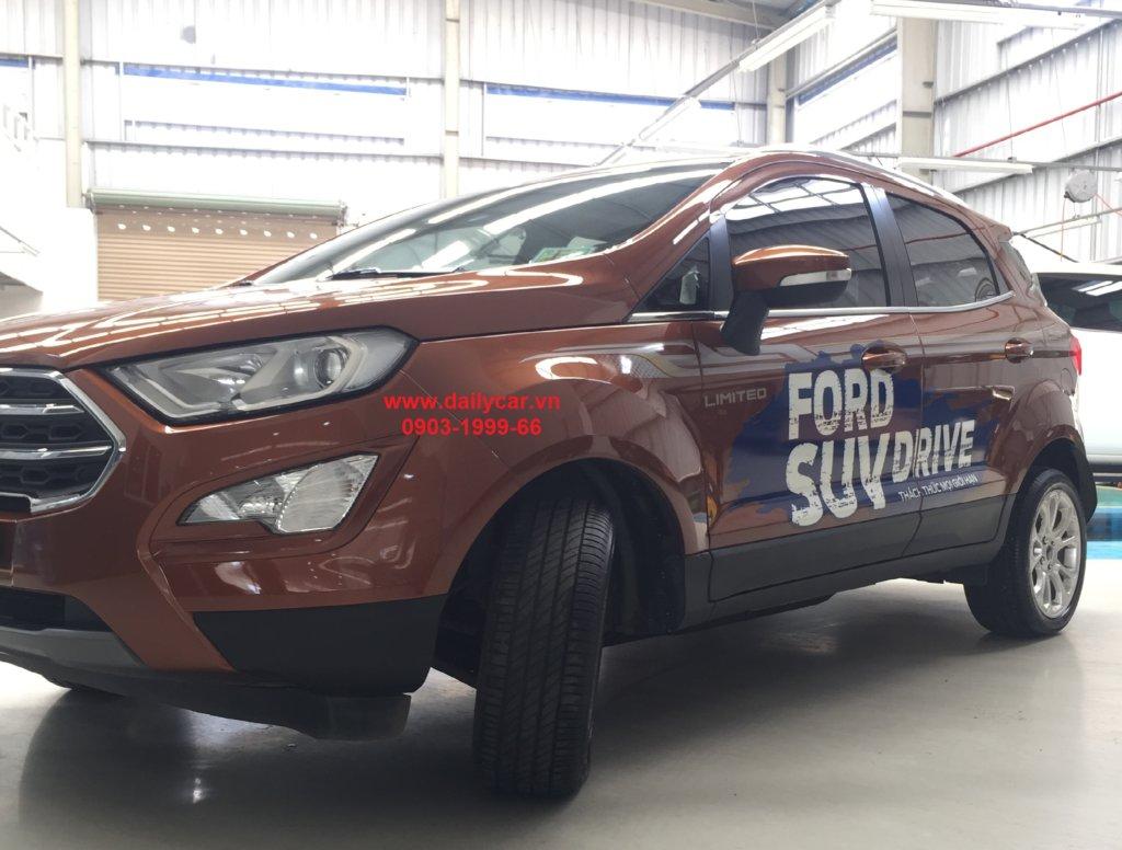 Ngoại thất bên ngoài Ford Ecosport 2019
