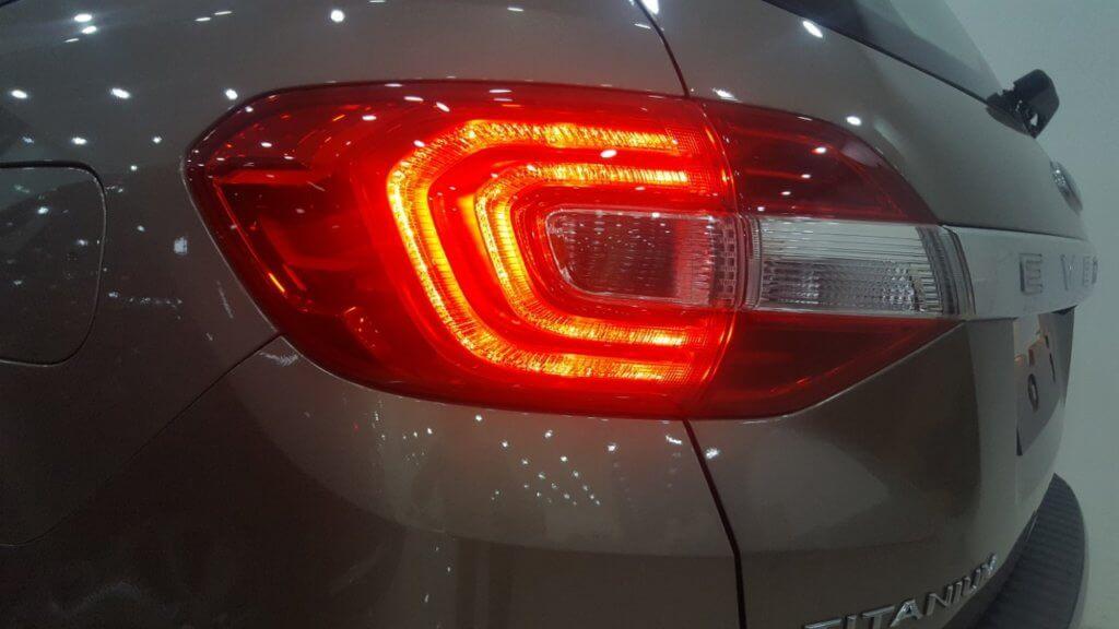 Đánh giá nội thất xe Ford Everest 2019