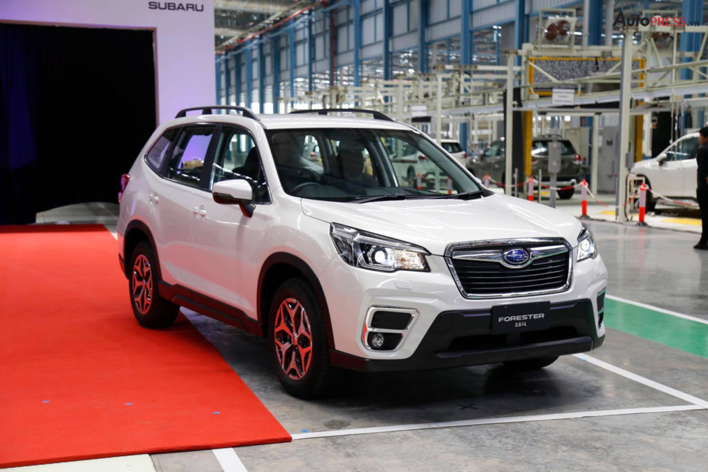 Subaru Forester 2019 tại nhà máy Thái Lan