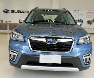 Thiết kế khí động học thể thao trên Subaru Forester 2019