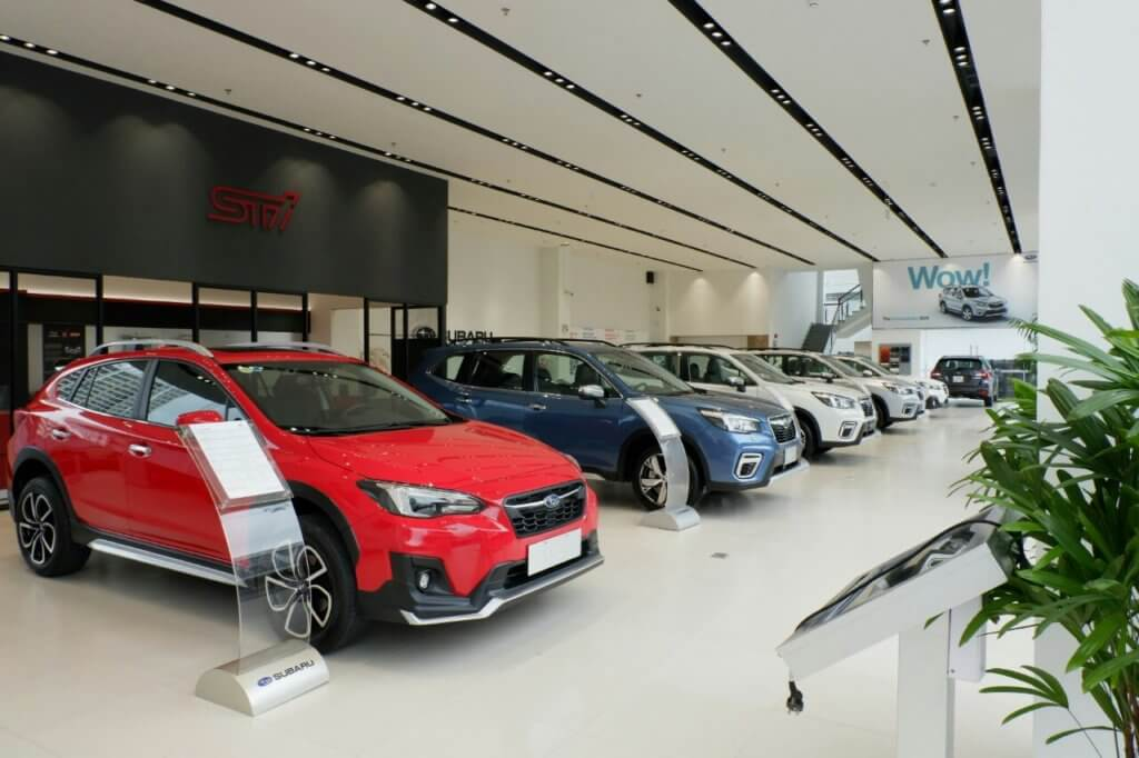 Subaru tặng phí trước bạ 100% kích cầu mua sắm 1