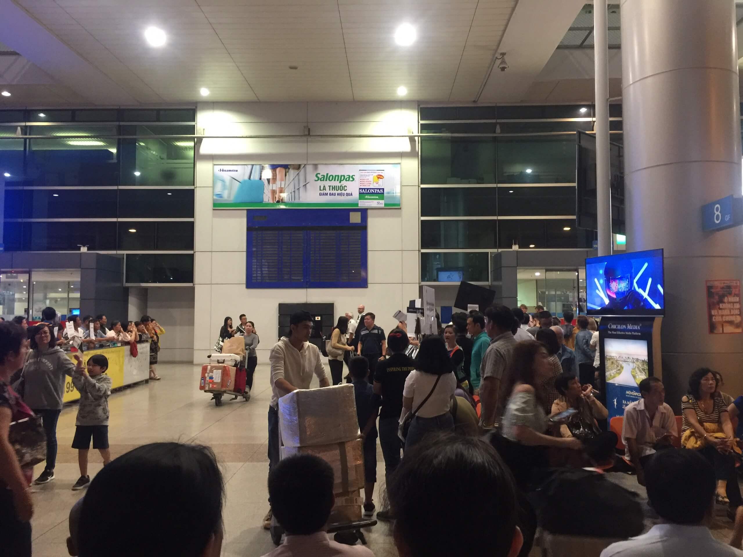 Kinh nghiệm đưa đón khách ở sân bay Tân Sơn Nhất 2021 18