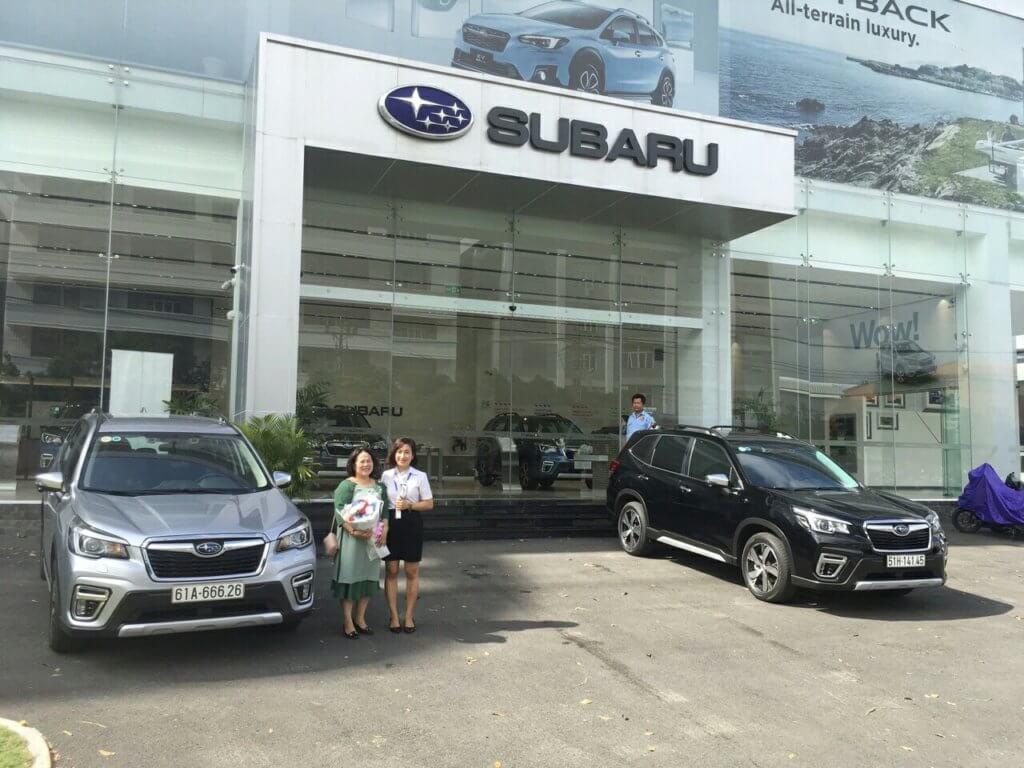 Đánh giá xe Subaru Outback 2021 tại quận 7 4