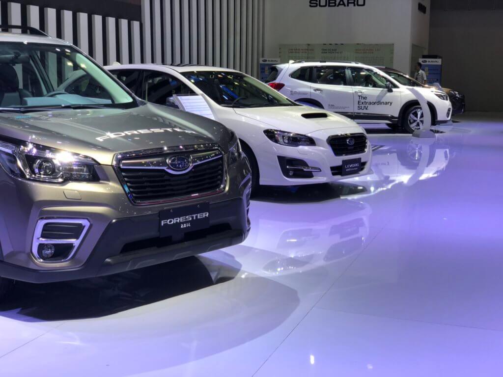 Subaru Wrx Sti 2021 có làm náo loạn triển lãm ôtô? 1