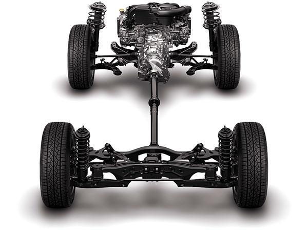 Hệ thống treo Subaru