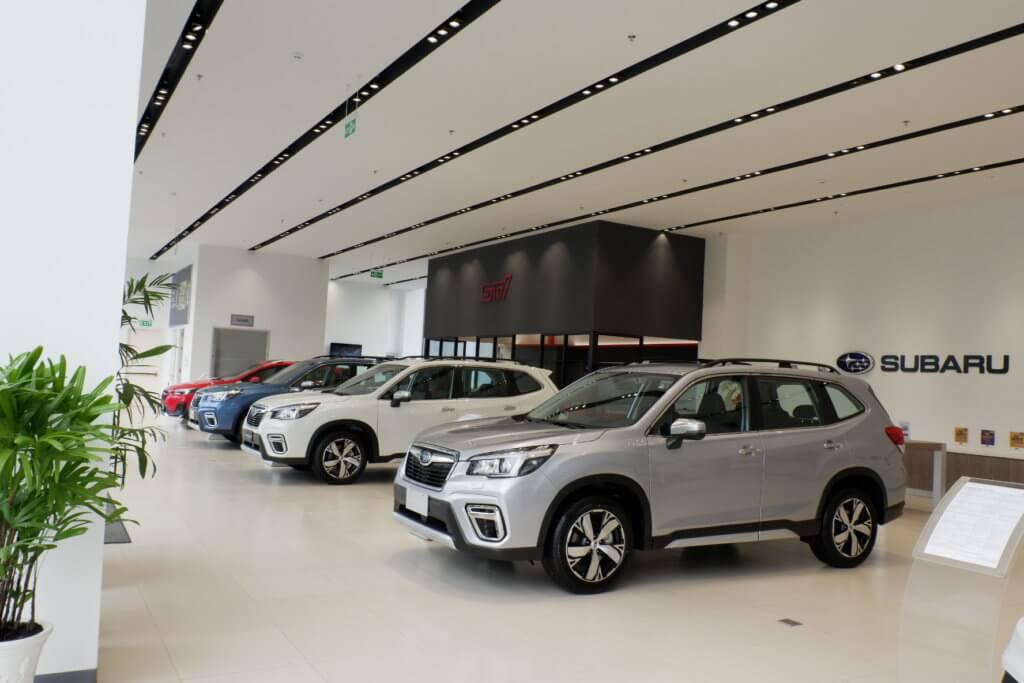 Đánh giá xe Subaru Outback 2021 tại quận 7 5
