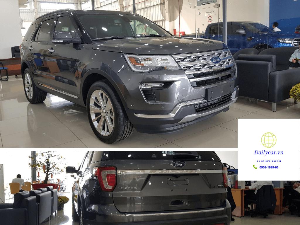 Ford Explorer 2021 giảm 269 triệu đấu Subaru Ascent 2