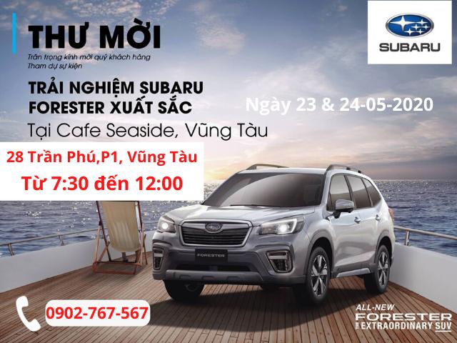 Forester Subaru tổ chức lái thử xe tại Vũng Tàu 11