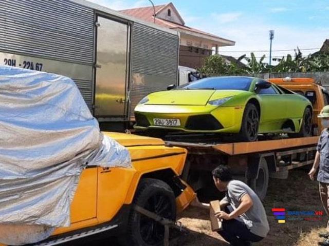 Lamborghini bị bắt ngay khi bánh chưa chạm đất 9