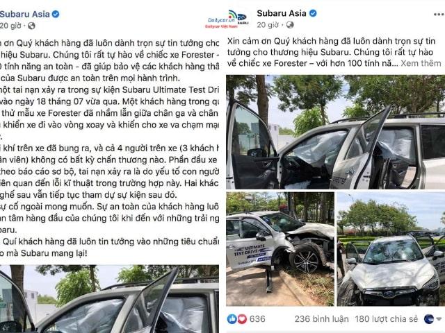 Xe Subaru Forester có an toàn 5 sao như quảng cáo? 2