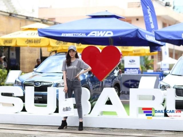 Thí sinh Nét Đẹp Công Sở Thanh Xuân tham gia Subaru Test Drive 2020 5