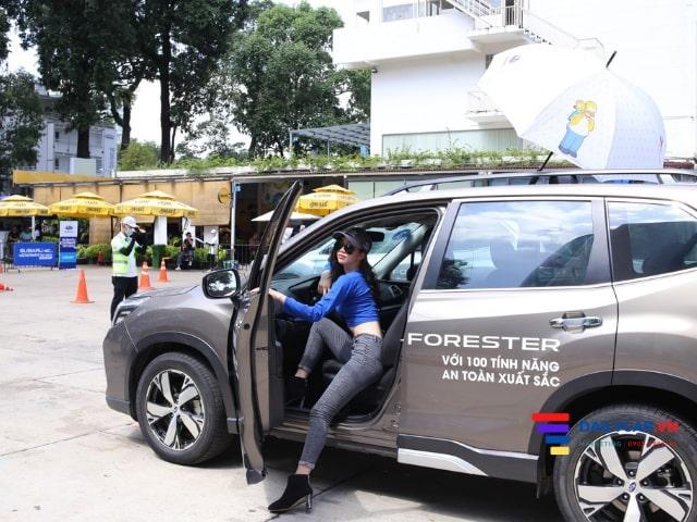 Thí sinh Nét Đẹp Công Sở Thanh Xuân tham gia Subaru Test Drive 2020 1