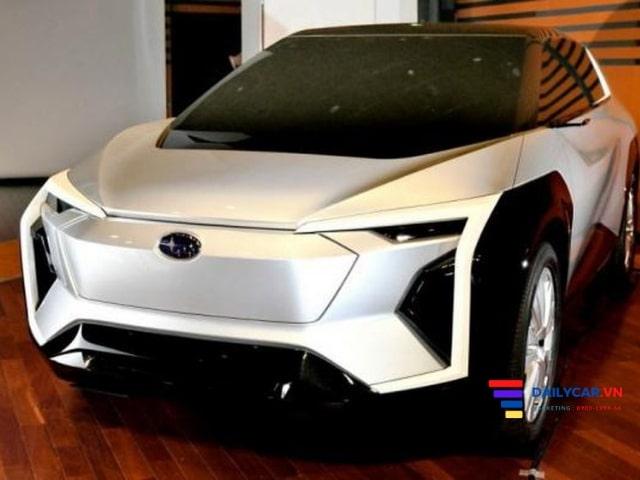 Subaru Evoltis 2021 bước đột phá ở lĩnh vực xe điện. 1