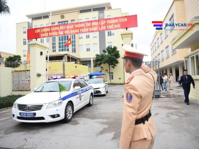 CSGT ra quân bảo vệ Đại hội Đảng lần thứ XIII toàn quốc 11