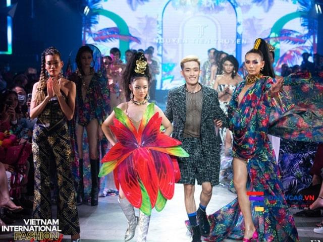 Bảo Hà Model Kid nổi bật tại Vietnam International Fashion Festival 2