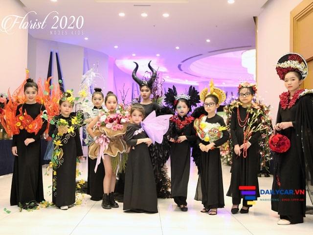 Florist Việt Nam 2020 - Nơi các người mẫu nhí tỏa sáng 3