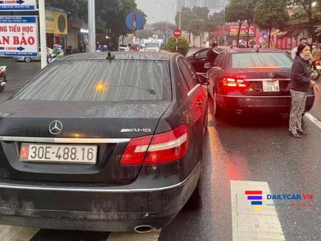 Cục CSGT xác minh điều tra vụ 2 xe Mercedes cùng biển số 3
