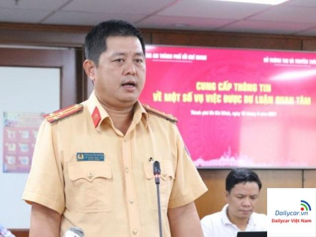 Phó Phòng CSGT TPHCM