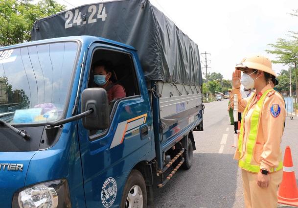 Xe vận tải sẽ được Tp HCM chấm điểm an toàn 1